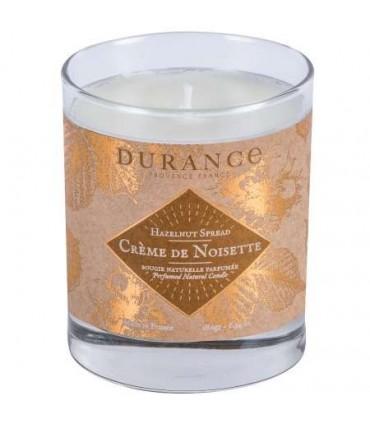 Bougie Parfumée Naturelle Crème de Noisette