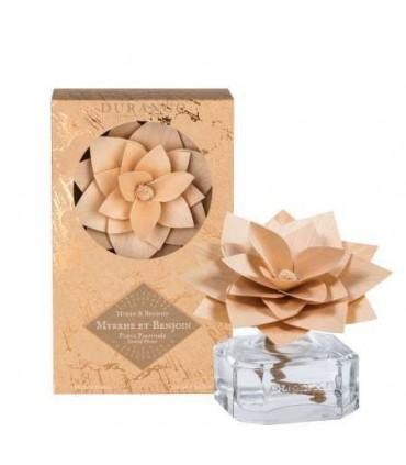 Fleur Parfumée Diffuseur de Parfum Myrrhe et Benjoin