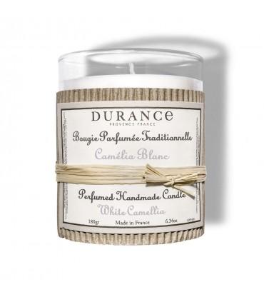 Bougie parfumée Camélia Blanc